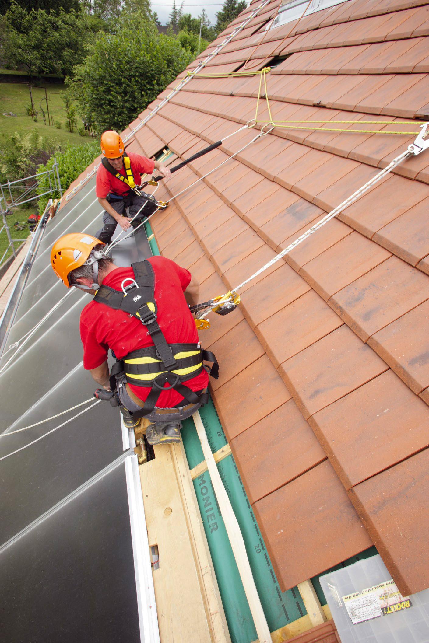 Как сделать ремонт крыши дома